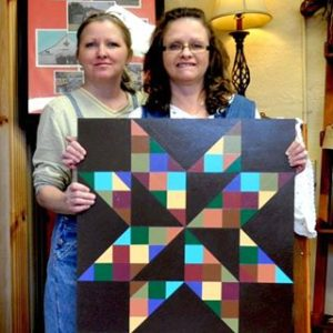 The Quilt Square Girls Renee and Syndi Brooks